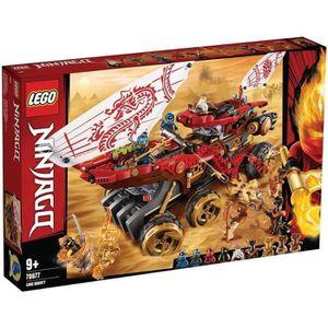 ASSEMBLAGE CONSTRUCTION LEGO® NINJAGO® 70677 Le Q.G des ninjas