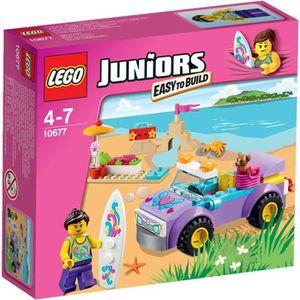 ASSEMBLAGE CONSTRUCTION LEGO® Juniors 10677 L'Excursion à la Plage - 74 pi