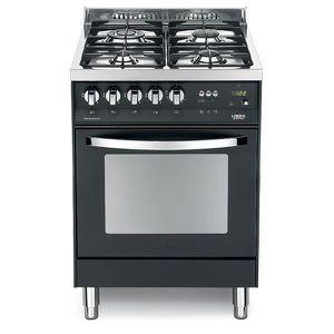 PLAQUE MIXTE LOFRA PNM66MFT-C 60X60 Matt Black COLORÉS cuisiniè