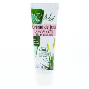 HYDRATANT VISAGE Pur Aloé Crème de Jour à l'Aloe Vera Vivant 67% Bi