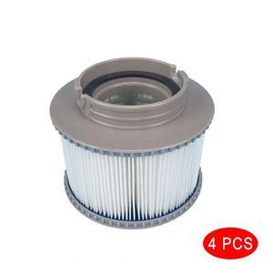 2pcs Type Facile de Cartouche filtrante de Piscine A pour la Pompe de Filtre dIntex 28604 filtrante de Rechange de Filtre Outil Accessoire