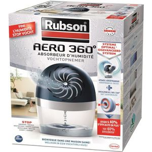 ABSORBEUR D'HUMIDITÉ RUBSON Absorbeur Aero 360  Power Tab 20m²