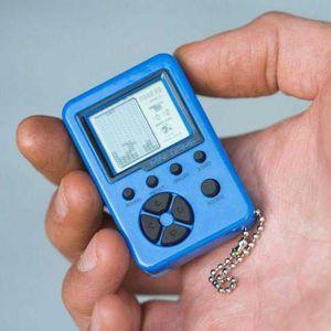 JEU CONSOLE RÉTRO ORB console de jeu portable avec porte-clés Mini R
