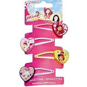 POUPÉE Toy Joy Joy Toy Mia and Me 4Barrettes à motifs sur