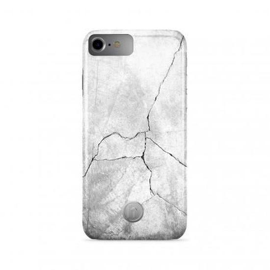 Coque de protection magnétique imitation pierre pour Apple iPhone ...