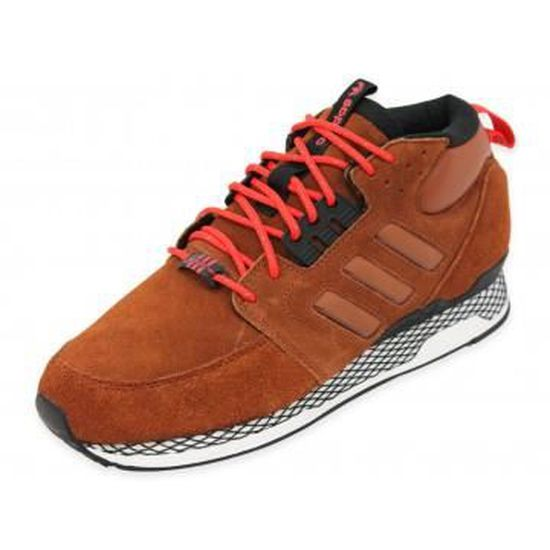 ZX CASUAL MID - Chaussures Homme Adidas Marron Marron - Achat / Vente basket