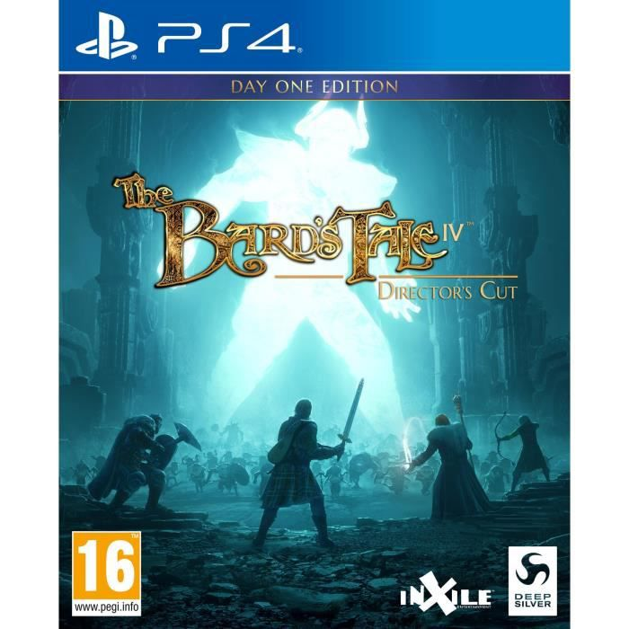 Bard's Tale 4 Director's Cut Jeu PS4