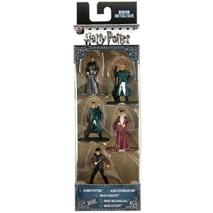 Jazwares NANOFIGS Harry Potter Pack de 5 Figurines, 98667