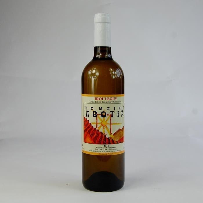 Vin blanc sec Irouleguy AOP Domaine Abotia