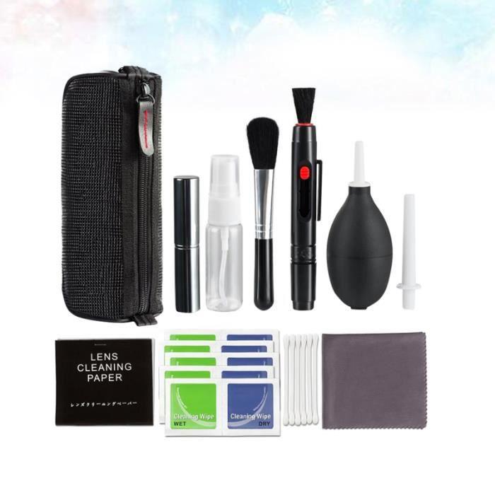 20 pièces Fournitures de nettoyage pour appareil photo Accessoires de pour portable Kit ENTRETIEN - NETTOYAGE PHOTO - OPTIQUE