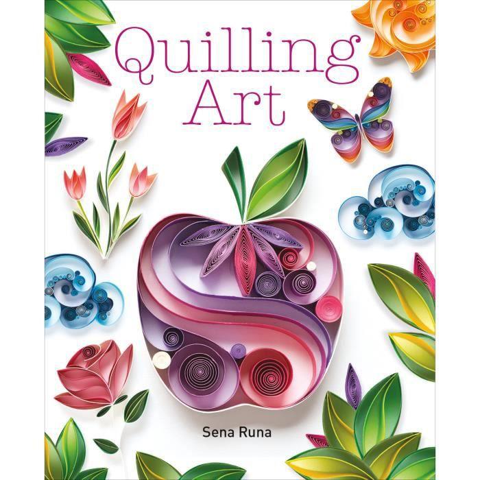 Guilde Du Maître Artisan Livres-Quilling Art