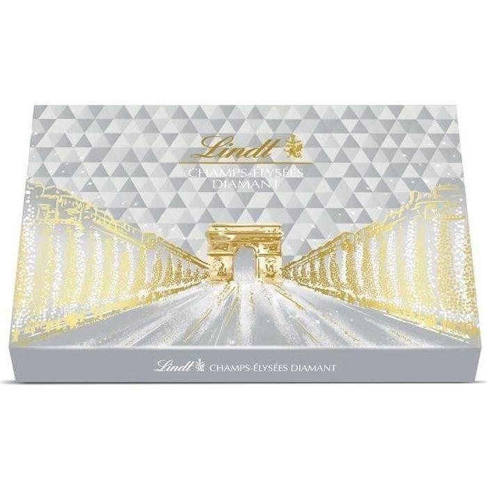 LINDT Boîte de chocolat Champs-Elysées Edition Diamant - 468 g