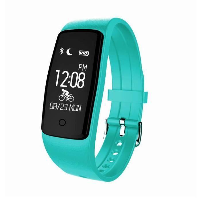 Kingwing® Smart Wristband S1 Bluetooth Fréquence cardiaque IP67 imperméable à l'eau avec mode de natation Bicycle Riding Mode Smart