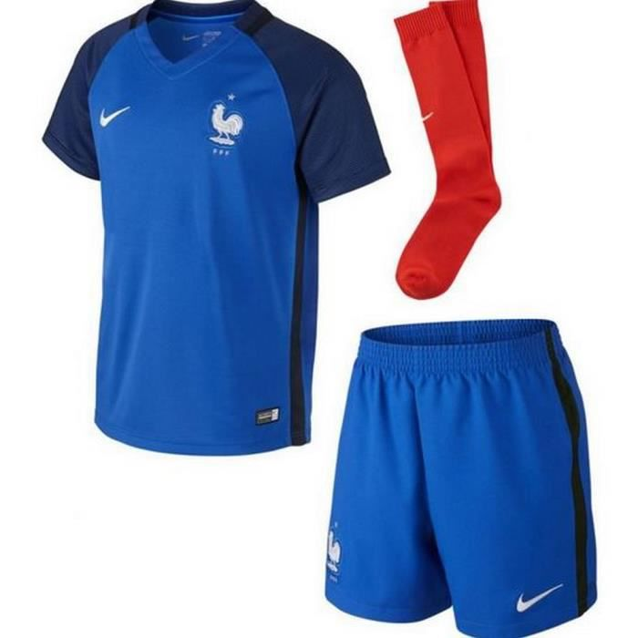 Mini-Kit Officiel Enfant Nike France Home Euro 2016