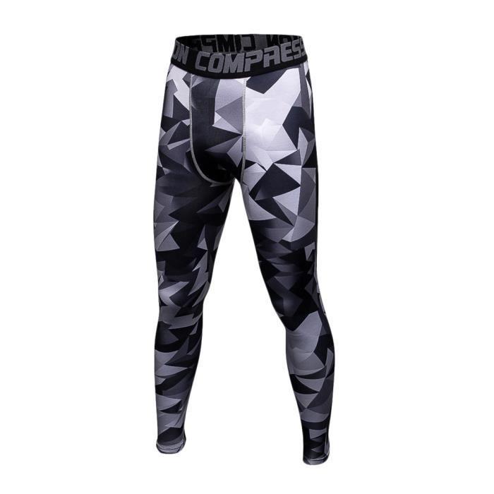 Pantalon De Sport Homme Legging De Compression Collant Séchage Rapide Baselayer 20 L