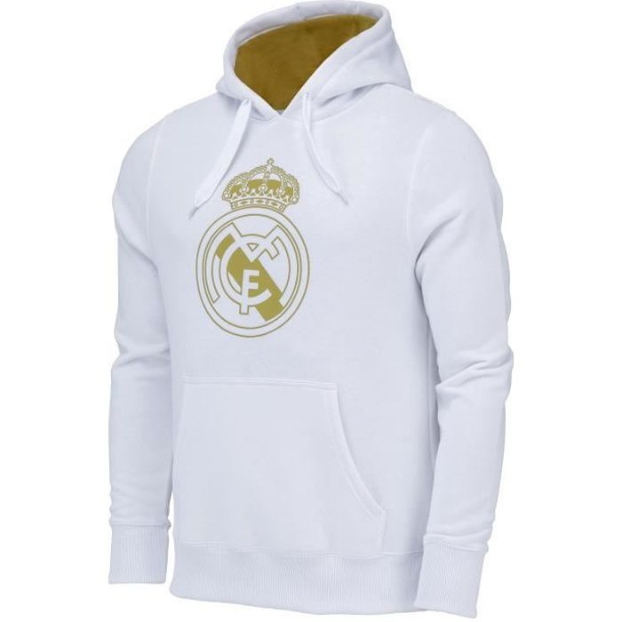 Sweat capuche Real Madrid - Collection officielle - Homme