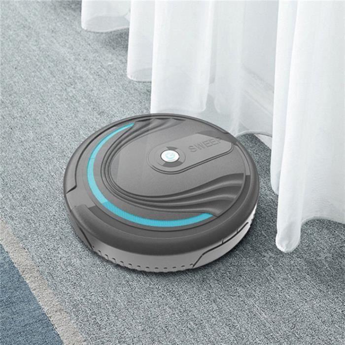 @EXE Robot de nettoyage automatique aspirateur de poussière de sol de robot de balayage intelligent Rechargeable Battery