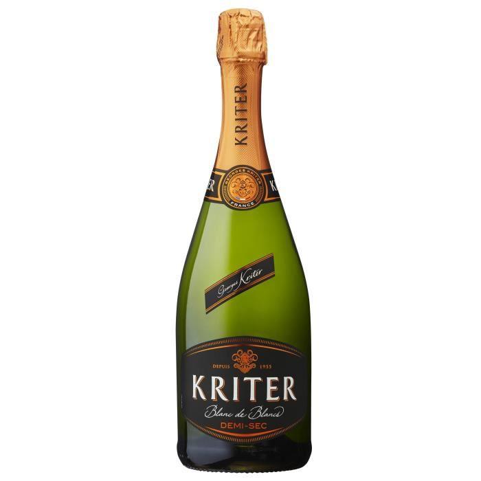 Kriter Demi-sec - Vin effervescent blanc
