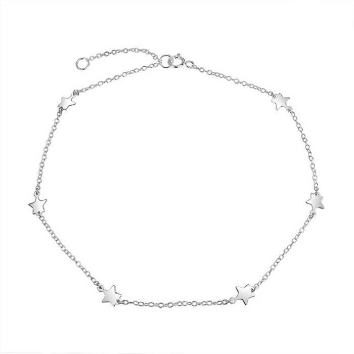 Bracelets de cheville pour femmes ROMANTICWORK 925 argent Sterling tournesol bracelets de cheville r/églable cha/îne pied bijoux cadeaux pour femmes filles