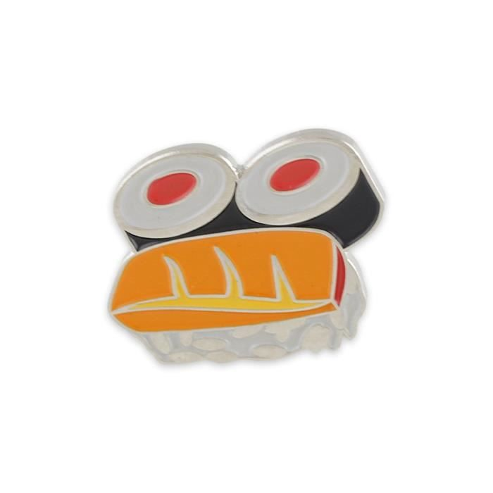 Womens Sushi Enamel Lapel Pin L22L5