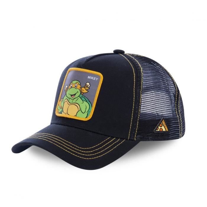 CASQUETTE Casquette Homme Tortues Ninja Mikey CapsLabs TU No