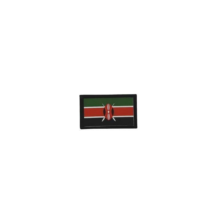 Kenya drapeau brodé Patch