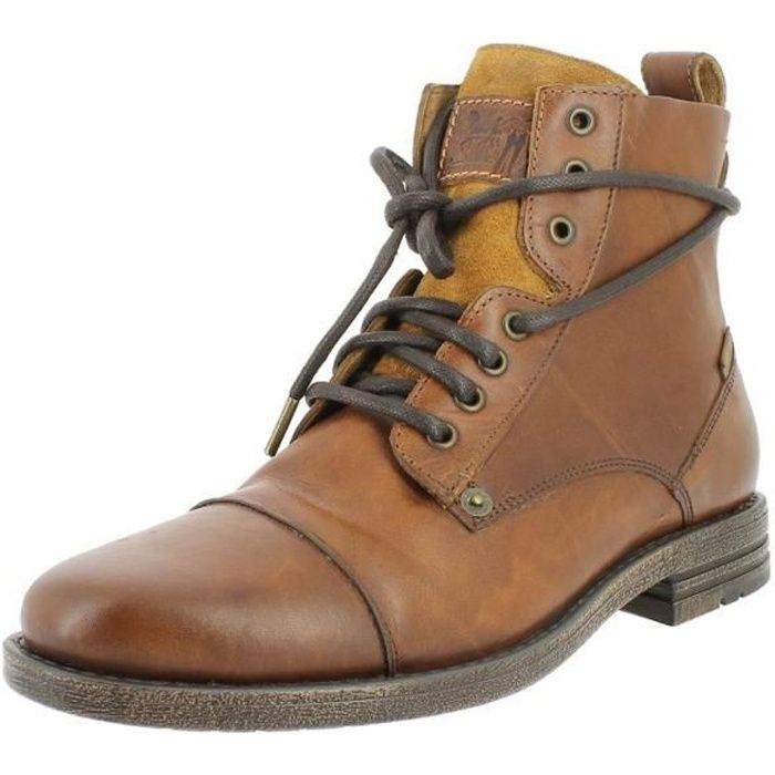 225115 emerson homme up bottines boots lace levi's NwPkX0Z8nO