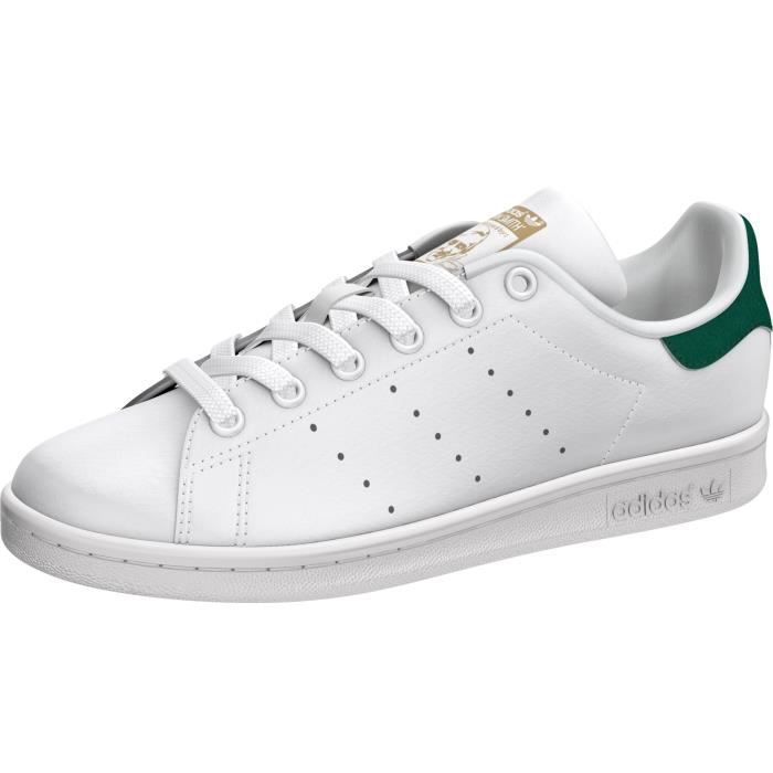 CHAUSSURES ADIDAS STAN SMITH J BLANC/VERT BY9984
