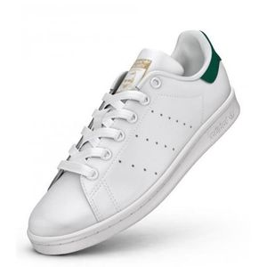 adidas stan smith j blanc metallic argent blanc