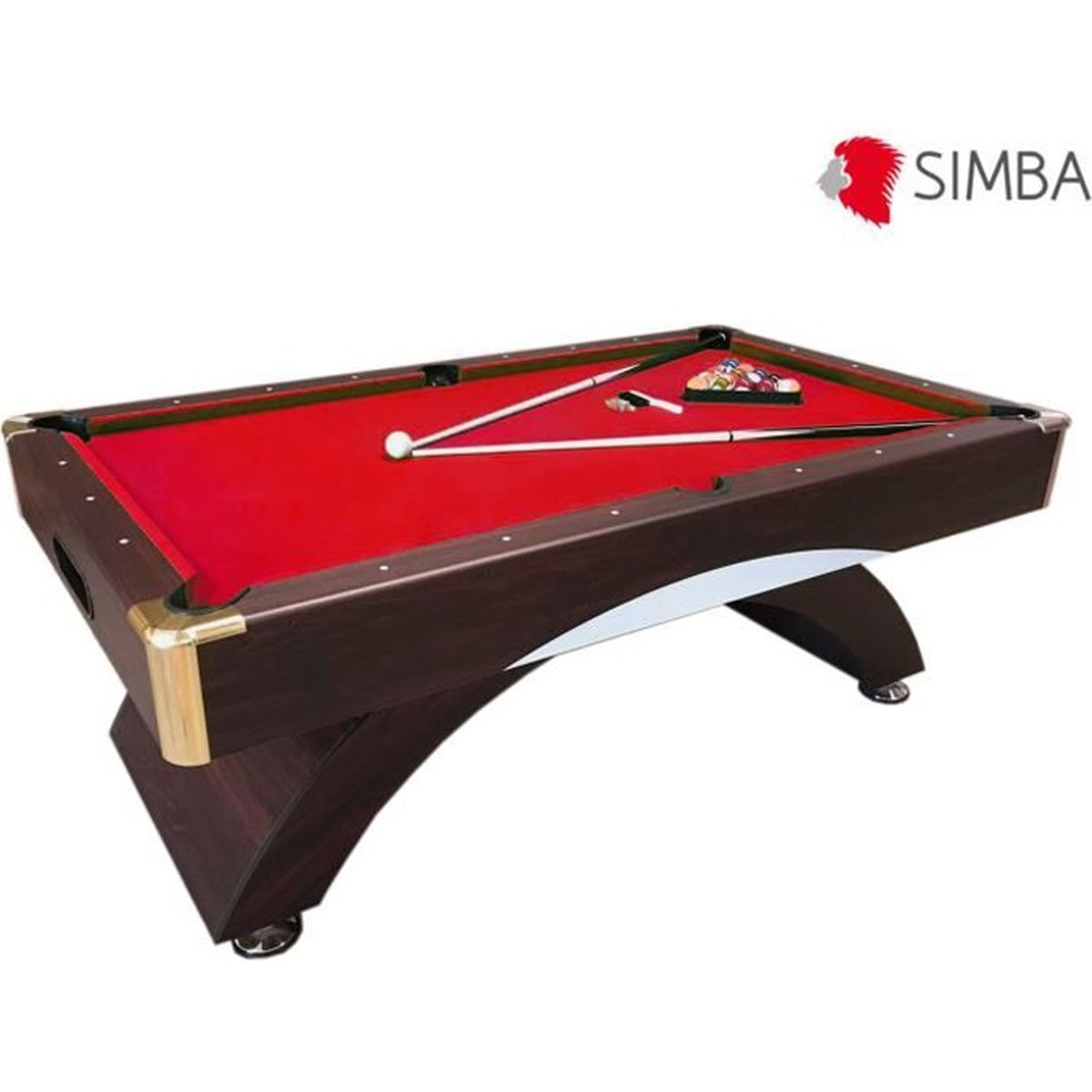 billard americain neuf table de pool snooker biljart salon. Black Bedroom Furniture Sets. Home Design Ideas