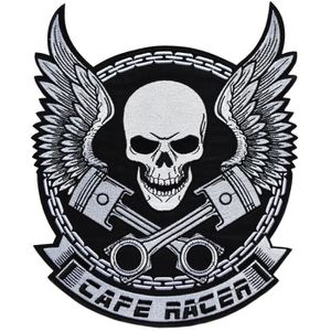 ecusson route 66 biker motard moto usa aviateur us thermocollant 11,5x5cm patche badge
