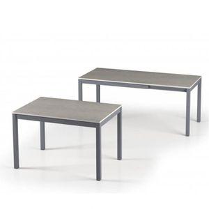 TABLE À MANGER SEULE Table de repas extensible ALUNGO 120 x 80 cm finit
