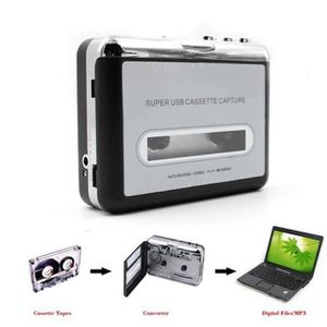 LECTEUR DE DISQUETTE Ruban au PC Super USB Cassette-a-MP3 Capture audio