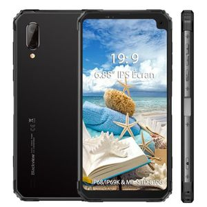 SMARTPHONE Smartphone 4G Blackview BV6100 IP68 étanche 6.88''
