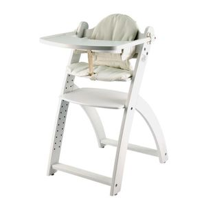 Chaise haute yaris blanc first baby safety achat vente for Chaise haute safety 1st baby relax