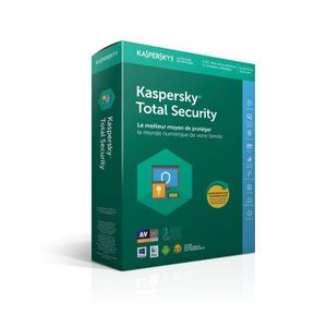 ANTIVIRUS KASPERSKY Total Security 2018 (5 postes - 2 ans)
