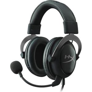 CASQUE  - MICROPHONE HyperX Micro-Casque Gamer Cloud II Filaire Bronze