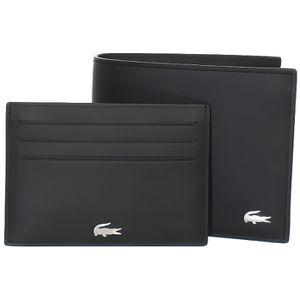 PORTEFEUILLE Coffret portefeuille Lacoste en cuir ref_cem42766-