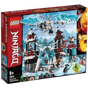 ASSEMBLAGE CONSTRUCTION LEGO® NINJAGO® 70678 Le château de l'Empereur oubl