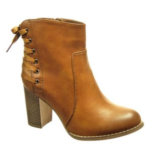 BOTTINE Angkorly - Chaussure Mode Bottine low boots femme