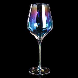 Verre à vin TEMPSA Verres à Pied Verre Vin Rouge Arc En Ciel S