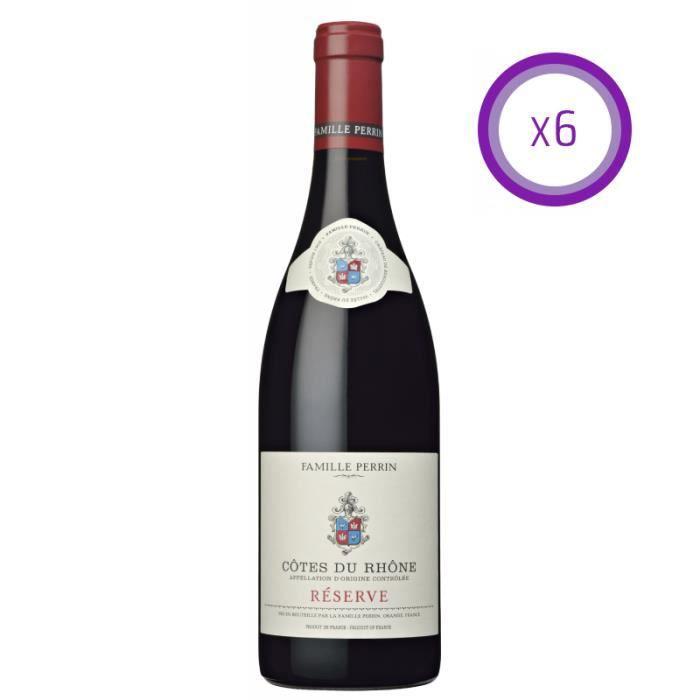 Famille Perrin - Réserve - Côtes du Rhône - Rouge - 2018 - 75cl