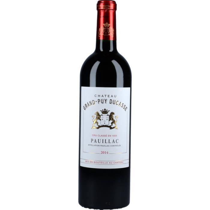 Vin Rouge - Château Grand-Puy Ducasse 2014 - Bouteille 75cl