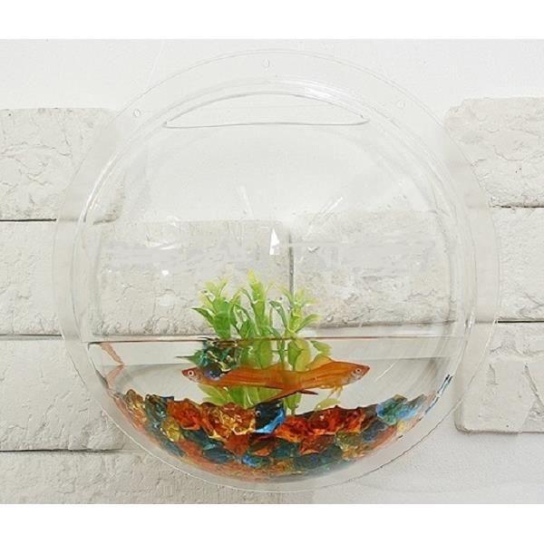 paroi poissons suspendus réservoir Fashion arylic Aquariums Un type S