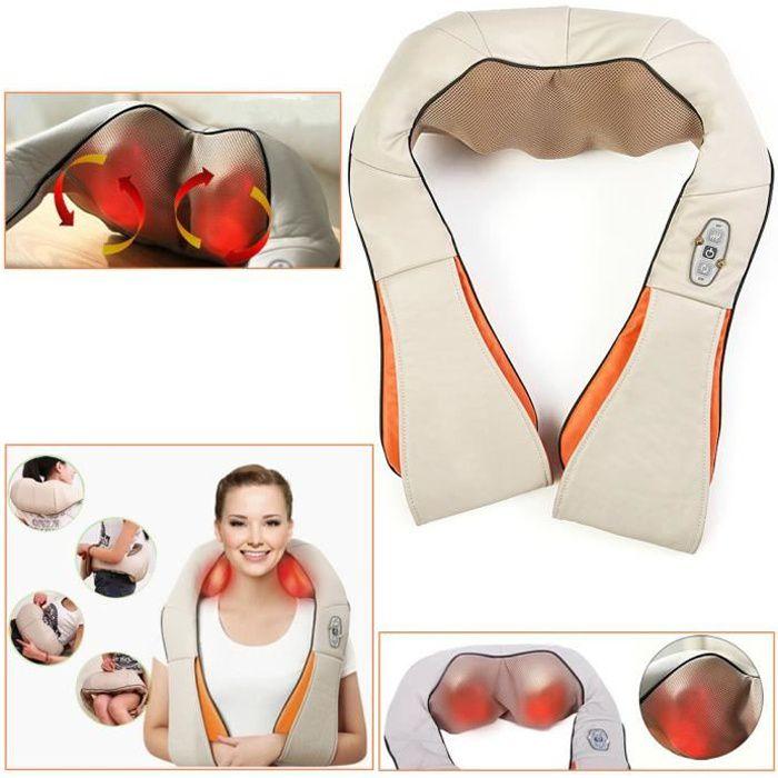 Appareil de Massage Multifonction Thermique Corps Cou Epaule Cellulite Massage