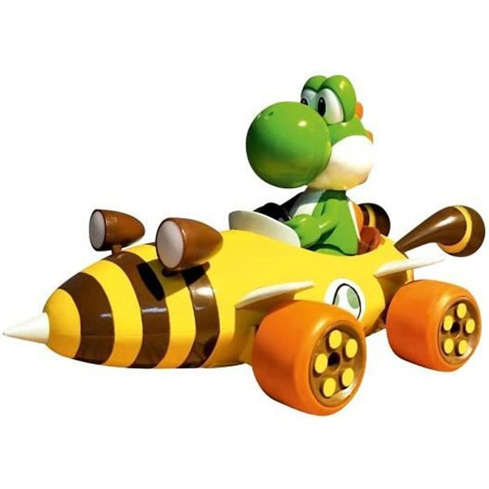 Carrera voiture RC Mario Kart Bumble V Yoshi 2,4 GHz 1:16 5 pièces