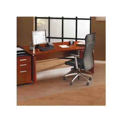 Floortex Ultimat Tapis protège-sol, polycarbonate pour sols durs et carrelage 121 x 152 cm