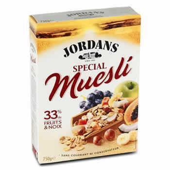JORDANS Special muesli - 750 g