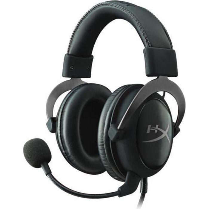 Hyperx Micro Casque Gamer Cloud Ii Filaire Bronze Surround 7.1 Ps4/Xbox One