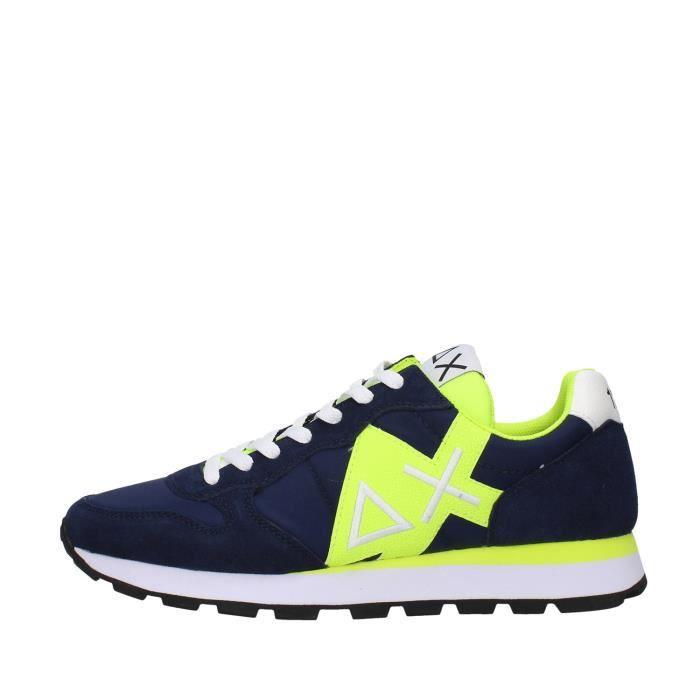Sun68 Z30113 chaussures de tennis Homme BLEU MARINE